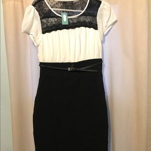 MAURICES NWT 5/6 dress with belt